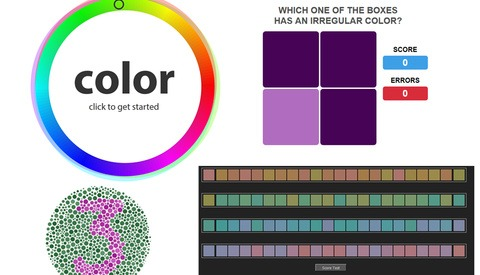 Is How I See Color How You See Color? Four Games That Test Your Color Vision