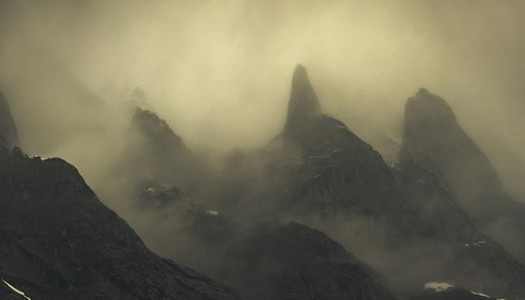Inspirational Ghostly Mountain Photography