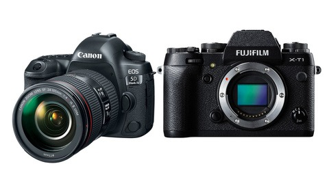 Rebate Deals on Canon and Fuji Camera Bodies