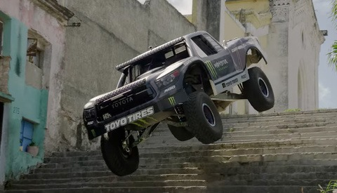 'Ballistic' BJ Baldwin Storms the Streets of Cuba in His 800-Horsepower Trick-Truck in Recoil 4