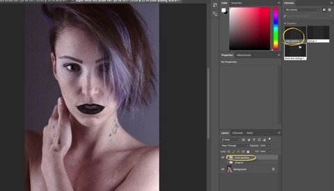 Use Photoshop CC Libraries to Speed Up the Color Grading Process on Photosets