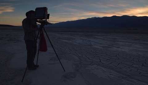 The Beautiful Journey of Shooting 8x10 Film in Death Valley