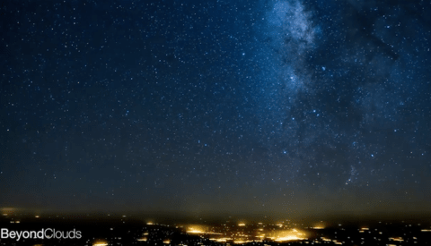 All About Perspective: A Milky Way 'Flightlapse' from a Pilot's POV