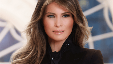 How Would You Edit the Official White House Portrait of the First Lady?