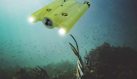 Consumer Drones Go Underwater With the Gladius