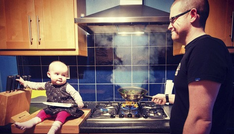 Father Photoshops Daughter Into Mischievous Situations for a Good Cause