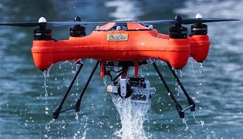 Afraid Of Losing Your Drone in Water? Fear No More with This Waterproof Drone