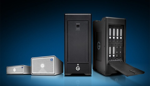 G-Technology Upgrades Lineup with Thunderbolt 3, USB C, and Higher-Capacity Storage Solutions