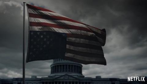 Pete Souza Photographs Netflix 'House of Cards' Promo in Washington, D.C.