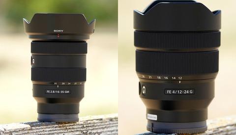 First Look: Sony FE 16-35mm f/2.8 G Master and FE 12-24mm f/4 G Wide-Angle Lenses