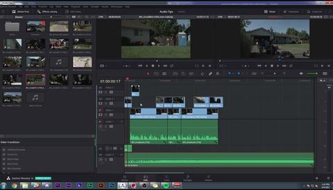 Quick Overview of DaVinci Resolve 14 Audio Editing Capabilities
