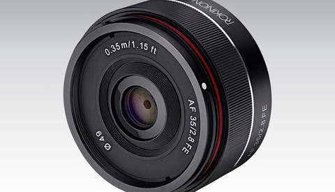 The Rokinon AF 35mm f/2.8 FE Brings Another Low-Price Lens Option to Sony Cameras