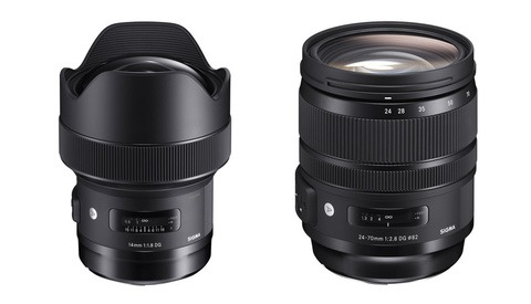 Sigma's New 24-70mm and 14mm Lenses Available For Pre-Order