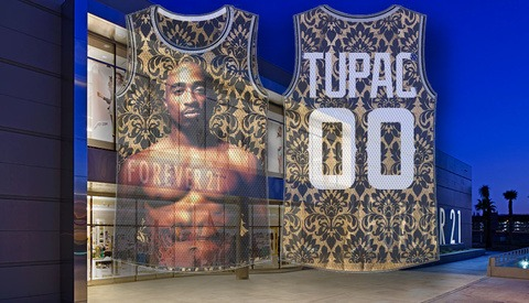 Major Retailers Forever 21 and Urban Outfitters Sued Over the Use of a Photograph of Tupac
