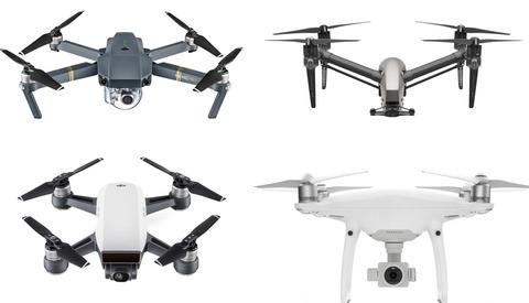DJI Spark, Mavic, Phantom, or Inspire - Which Drone Should You Buy?