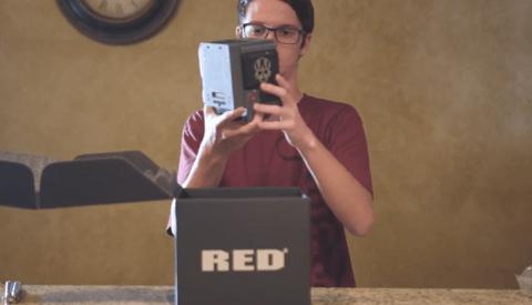 High Schooler Buys $20,000 RED Scarlet-W