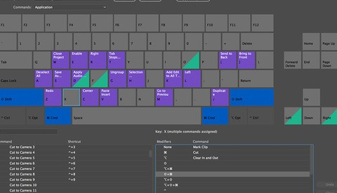 How to Use Premiere Pro's Keyboard Shortcut Map