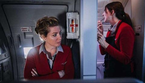 Flight Attendant's Photographs Give Insight Into the Lives of Virgin America's Flight Crews