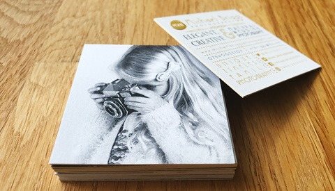 How Your Business Card Can Help You Win Photography Clients
