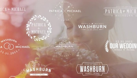 Download These 5 Free Wedding Titles and 16 Free Light Leaks