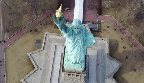 Statue of Liberty Drone Ban to Go Into Effect in Six Days
