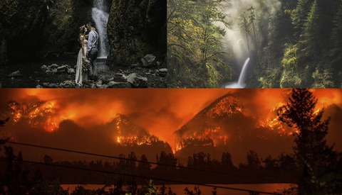 Photographers Around the World Are Devastated as Majestic Columbia River Gorge Destroyed by Fire