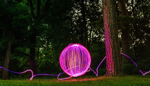 Fstoppers Reviews the Ball of Light Tool From Light Painting Master Denis Smith