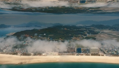 Surreal Drone Video Blends Time-Lapse and VFX in 'Korean Mirrorworld'