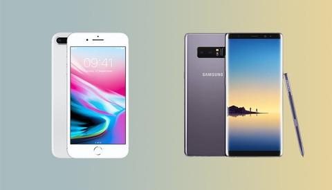 iPhone 8 Plus Vs. Galaxy Note 8 Camera Comparison