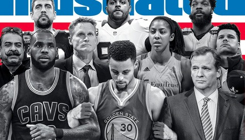 Stephen Curry Blasts Sports Illustrated 'Unity' Cover for Not Including Colin Kaepernick