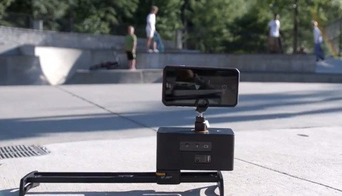 InMotion: Automated Digital Slider for Your Smartphone