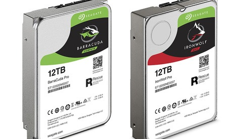 Seagate Announces Massive 12 TB Desktop and NAS Drives