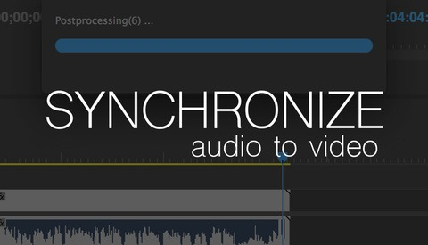 How to Sync Up Audio and Video in Premiere Pro