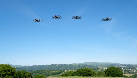 CNN Approved to Fly Drones Over Crowds