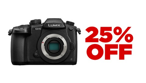 Buy The Panasonic GH5 For 25% Off Right Now