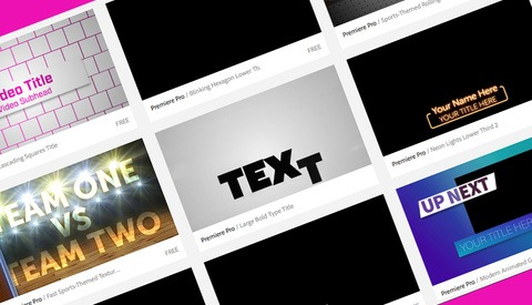 From Photographer to Videographer: Using Adobe's Motion Graphics Templates