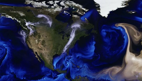 Sand, Salt, and Smoke Make This Mesmerizing Visualization That Shows Our Turbulent Weather