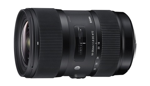 The Sigma 18-35mm f/1.8 Is at an All Time Low Price