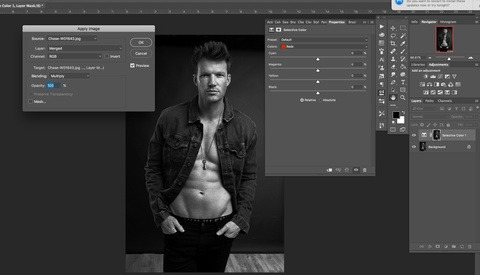Using Apply Image on Layer Masks in Photoshop