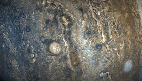 NASA Releases New Photos of Jupiter That Look Just Like Watercolor Paintings