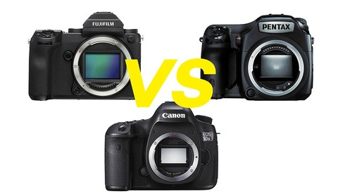 Fujifilm GFX Vs. Canon 5DS R Vs. Pentax 645Z: Battle of the 50s