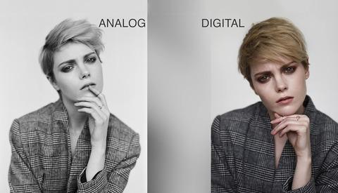 A Great Comparison of Shooting Film Versus Digital