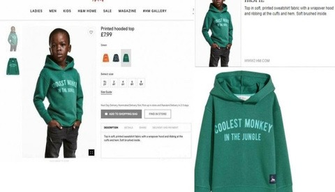 H&M Ad Sparks Ethical Debate in the Industry
