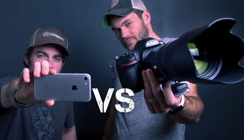 iPhone Vs. Pro Camera Challenge