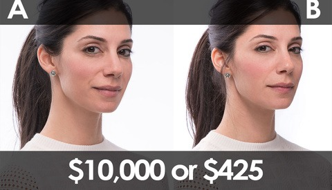 Can You Tell The Difference Between $10,000 and $425 Photography Lighting?