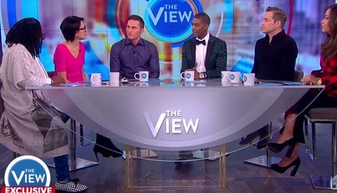 Three Male Models Accusing Bruce Weber and Mario Testino of Sexual Assault Are Interviewed on 'The View'