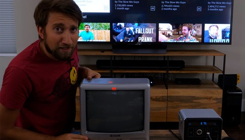 Learn How a TV Works in This Video by the Slow-Mo Guys