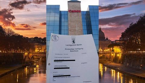 Court Injunction Insists Canon Italia Must Remove Elia Locardi's Image