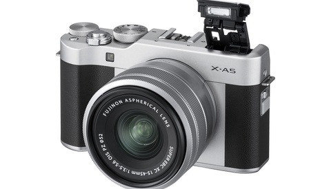 Fujifilm Announces X-A5 Mirrorless Camera and XC 15-45mm f/3.5-5.6 OIS PZ Lens