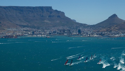 BTS Aerial Photography of the VOLVO Ocean Race